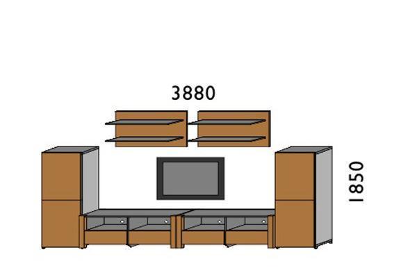 挪亚家厅柜组合D059DD059D