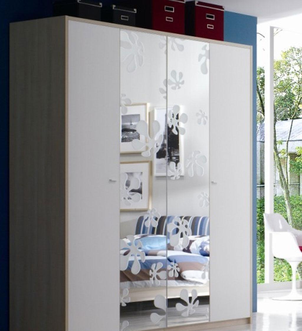 绿之岛白领生活系列BA222四门衣柜BA222
