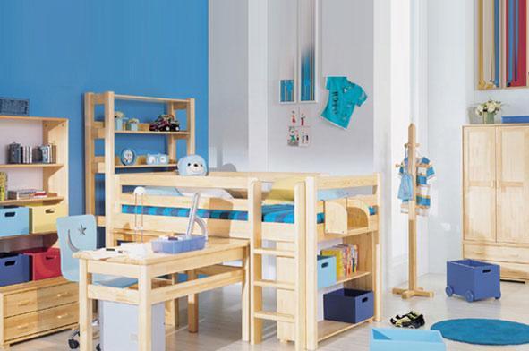 星星索S6219-10儿童书架床S6219-10