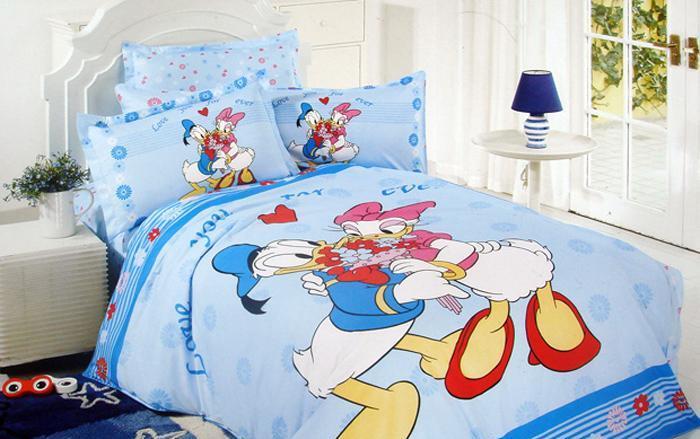 艺森家纺床上用品三件套全棉性印染卡通TD-118-TD-118-永恒的爱