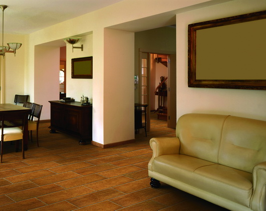 Wood系列瓷砖客厅10效果图