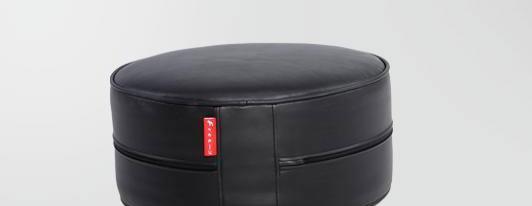 麦斯得尔小组件系列托比圆墩r01纯黑r01