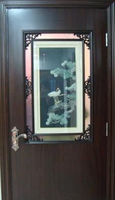 星星套装门画屏门