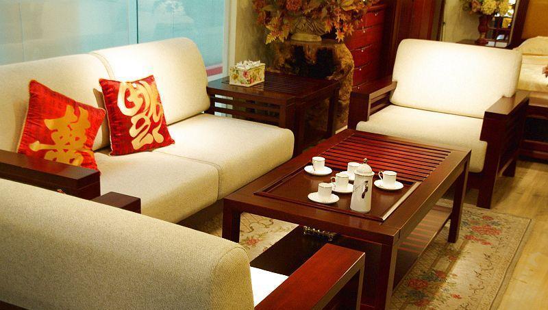 光明客厅家具沙发1+1+3+长茶几+方茶几1+1+3+长茶几+方茶几