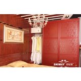 诗尼曼洛可可魅力红衣柜