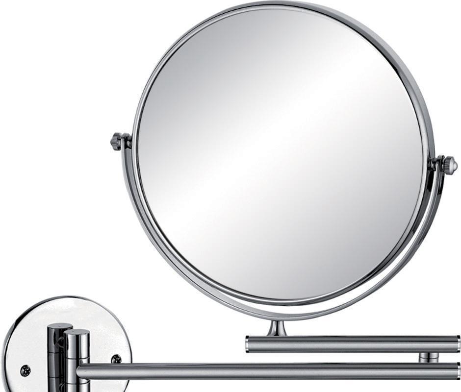"""帝朗8""""铬色圆座挂墙镜(双臂)WM210802WM210802"""