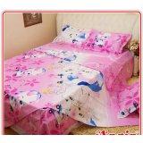 安寝家纺快乐猪猪高级斜纹床上用品四件套