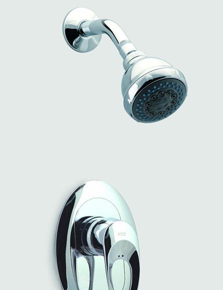 摩图系列入墙式淋浴龙头
