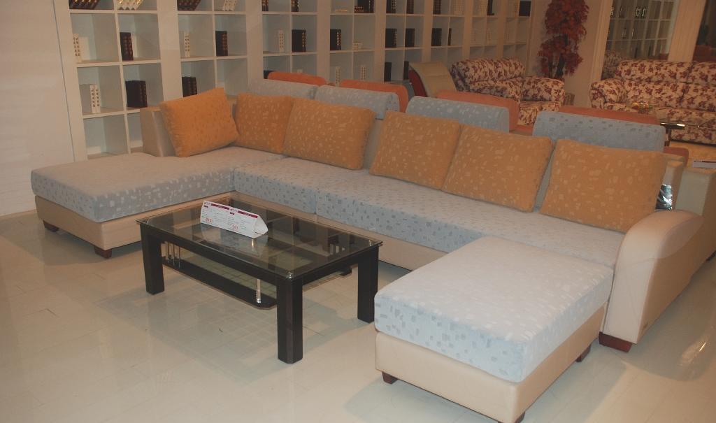 集美JF598沙发单背+3+贵妃塌+小塌JF598