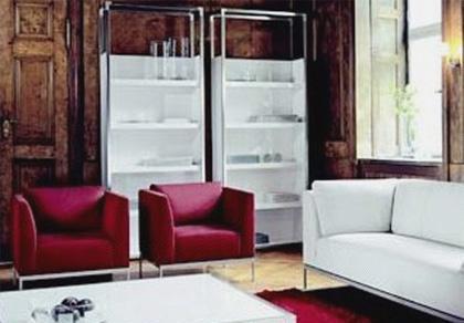 北山家居客厅家具单人沙发1SA342AD1SA342AD