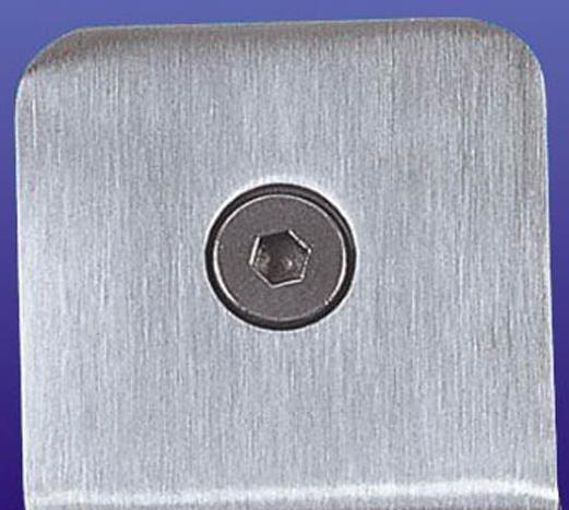 富力玻璃夹0度不锈钢方形B017B017
