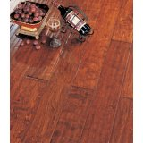 北美枫情实木复合地板王后居室系列波尔多红