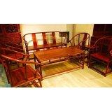 元亨利家具圈椅式B-S-0364-78沙发