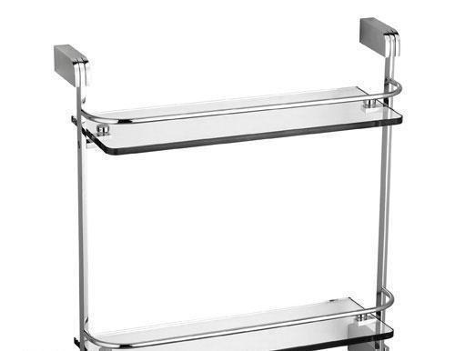 雅鼎-阿罗姆双层置物架(玻璃台面)-L2212L2212