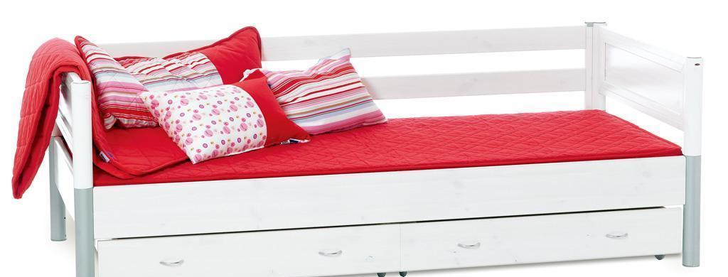 丹麦芙莱莎儿童家具简单床组合NENA2(白色)NENA2