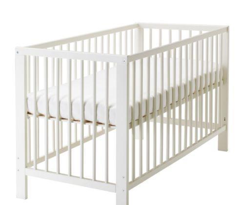 宜家婴儿床古利福系列(白色)
