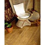 富林满江红系列幻翅咖啡实木地板-栎木