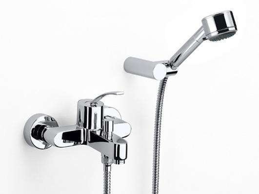 乐家卫浴摩爱系列挂墙式浴缸淋浴龙头5A0146C0N5A0146C0N