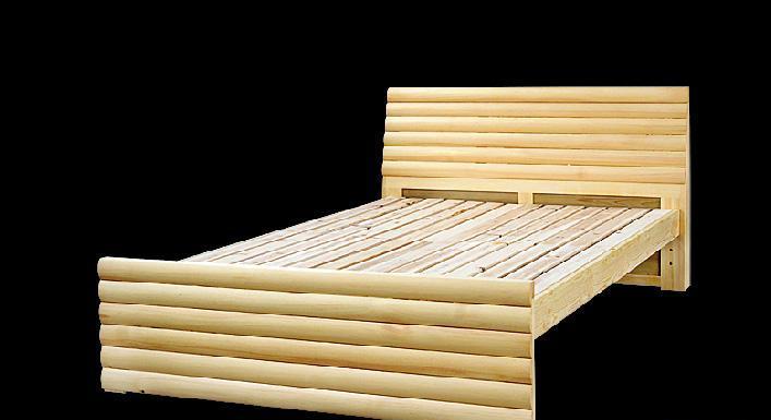贵人缘松木床A01-15A01-15