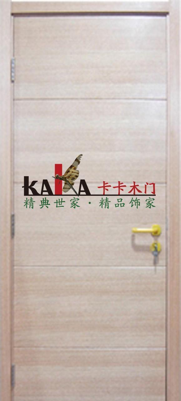 卡卡木门样本清油平板系列KA-QP002