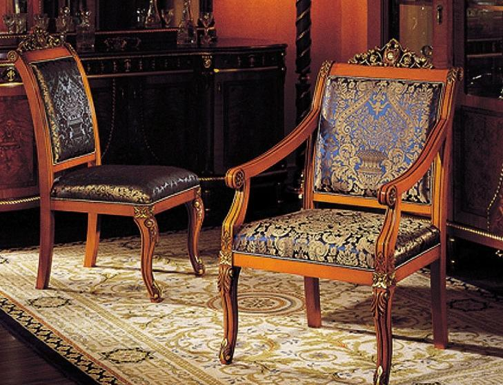 罗浮居餐椅+扶手椅奥美斯系列