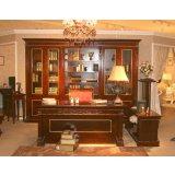 标致家具巴赫家具系列六门书柜KG01-012