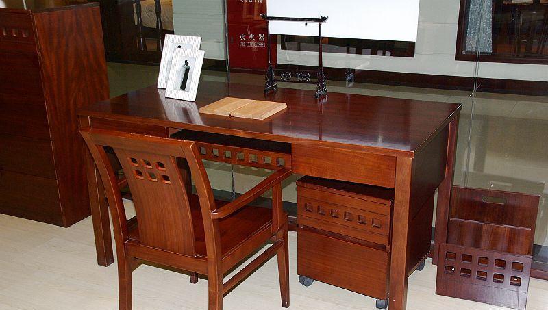 华日书桌-格林尼治系列书韵笛音-书房字台D9721D9721