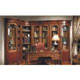 大风范家具路易十六书房系列LV-551-1单门书柜(