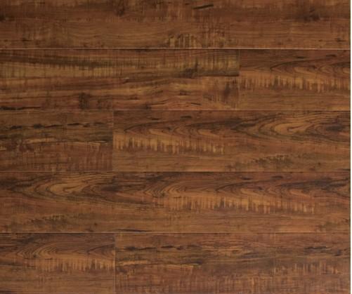 北美枫情新枫彩主义系列水墨柚木强化复合地板水墨柚木
