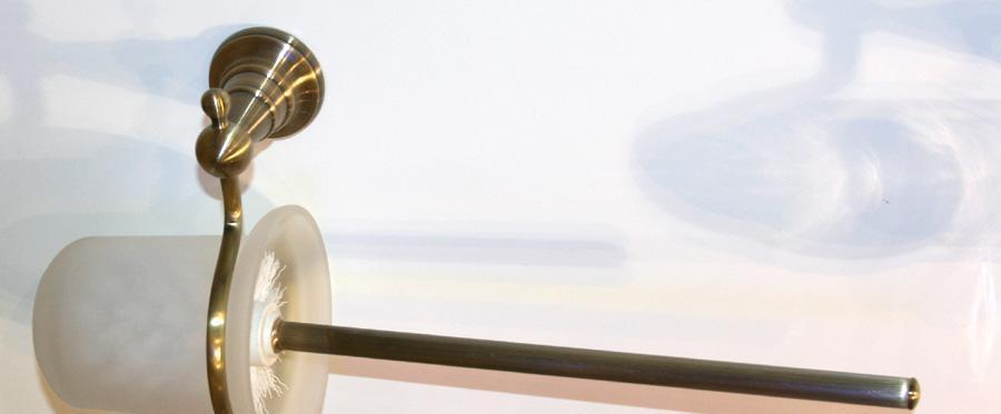 伊翎青古铜系列青古铜马桶刷EL-1612100BW