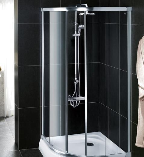 科勒-纳帝奥 圆弧型标准淋浴房K-17116T-L-SHP/-K-17116T-L-SHP/-L-0