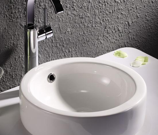 得而达白色碗盆Terrano系列DW15023WHDW15023WH