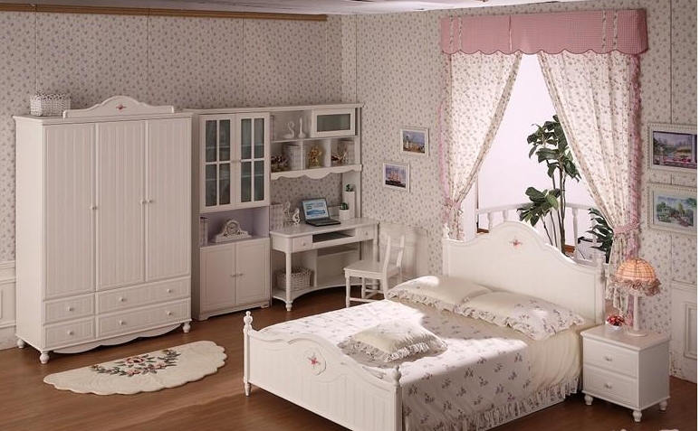 宜伟青少年卧室家具YW-JF-02整体卧室