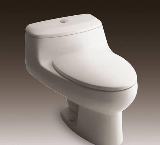 乐家卫浴芝加哥连体座厕(阻尼欧乐盖板)3-48456.3-48456..0