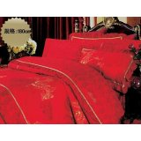 图美花语情思1TR0017床罩四件套