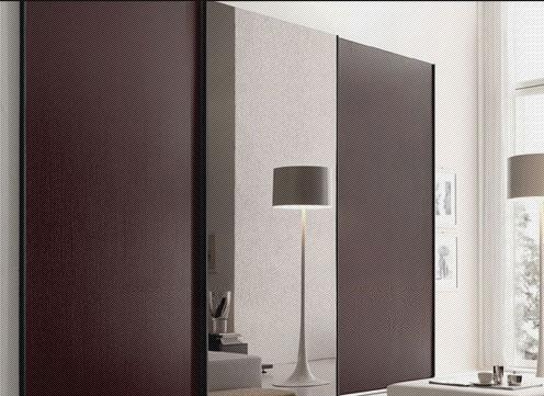 北山家居卧室家具移门衣柜2WB052B11-12WB052B11-1