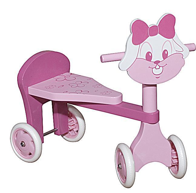图图佳佳图图宝宝系列RJU00480小兔车(粉色)