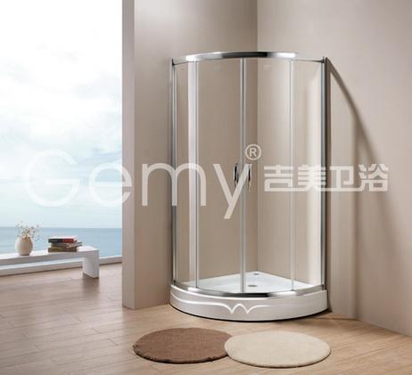 全弧形淋浴房