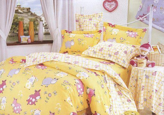 梦洁家纺全棉花边三件套(1.2和1.5床用)9号三件套