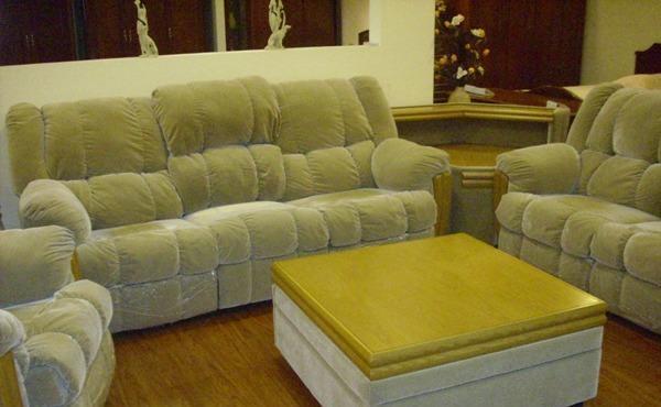 天坛门厅家具-太空沙发单+单+三人