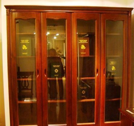 谷氏书房家具-四门书柜G-2