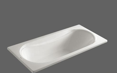 美加华压克力无裙浴缸M-1722(塑料浴缸去水1个)M-1722