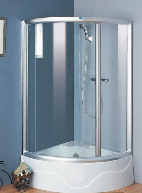 贝恩斯-高底盆单开门淋浴房