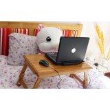 美好家笔记本电脑桌-三层面板圆角楠竹