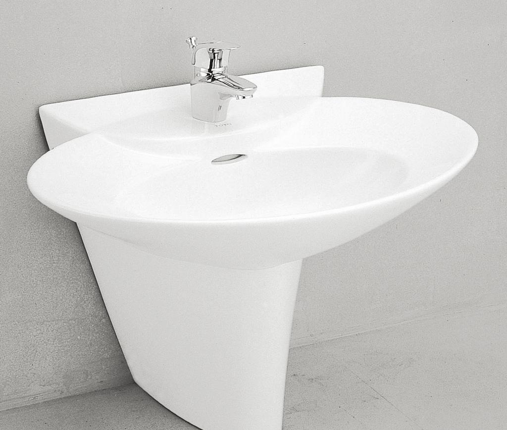 TOTO柱式洗面盆LW908HFBLW908HFB
