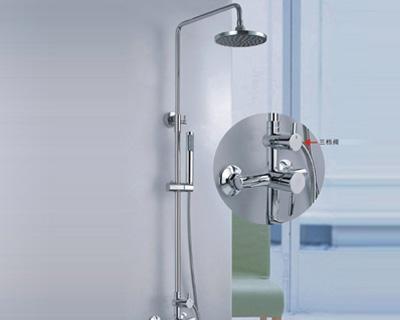 杜菲尼DLT32029明杆淋浴花洒DLT32029