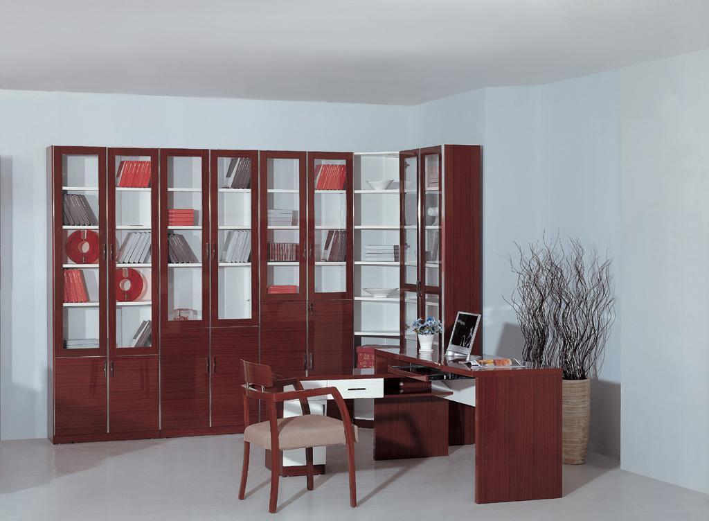 富之岛书柜沙比利系列QZ15-6QZ15-6