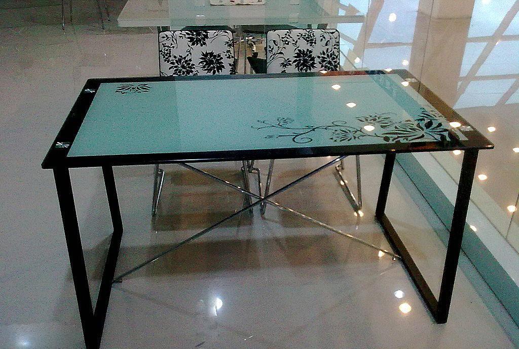 朗臣时尚透明系列DLY-T989餐桌DLY-T989