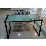 朗臣时尚透明系列DLY-T989餐桌